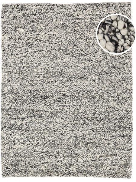Bubbles - Melange Grau Teppich  200X300 Moderner Hellgrau/Türkisblau (Wolle, Indien)