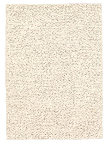 Bubbles - Natural Weiß Teppich  200X300 Moderner Beige (Wolle, Indien)