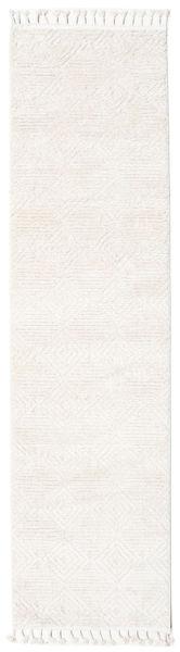 Taj - Cream Teppich  80X300 Moderner Läufer Beige/Weiß/Creme ( Türkei)