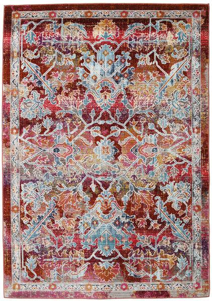 Melissa Teppich  118X176 Moderner Dunkelrot/Hellgrau ( Türkei)