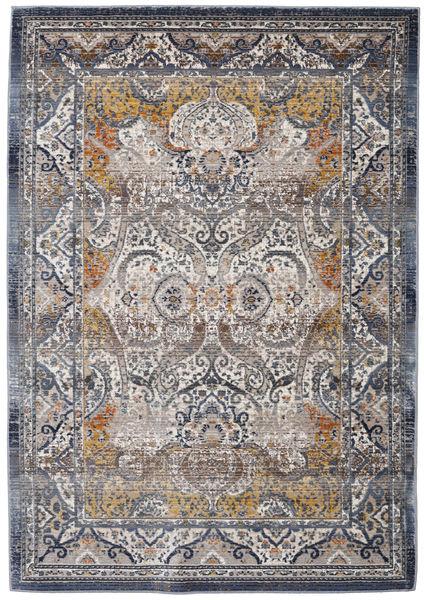 Minna - Gold Teppich  118X176 Moderner Hellgrau/Dunkelgrau ( Türkei)