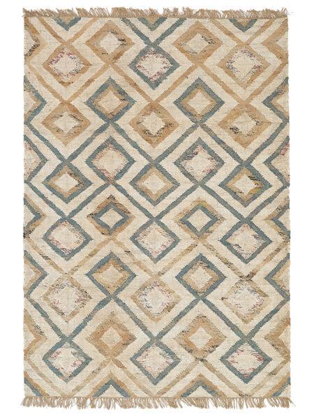 Outdoor-Teppich Patagonia Jute Teppich  170X240 Echter Moderner Handgewebter Hellgrau/Beige (Jute-Teppich Indien)
