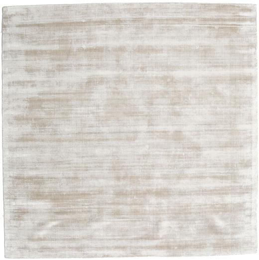 Tribeca - Warm Beige Teppich  250X250 Moderner Quadratisch Hellgrau Großer ( Indien)