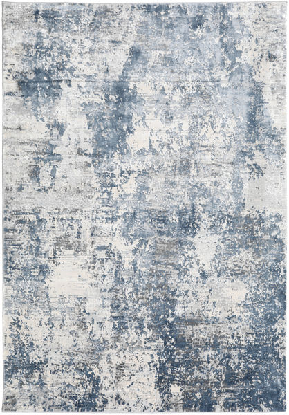 Triad - Grau/Blau Teppich  160X230 Moderner Weiß/Creme/Hellgrau/Hellblau ( Türkei)