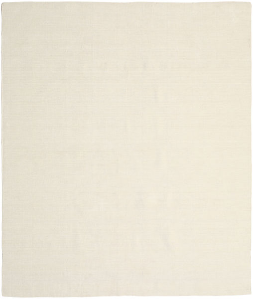 Kelim Loom - Natural Teppich  250X300 Echter Moderner Handgewebter Beige/Dunkel Beige Großer (Wolle, Indien)