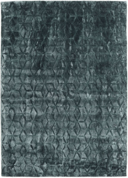 Diamond - Dark_Teal Teppich  140X200 Moderner Blau/Dunkelblau ( Indien)