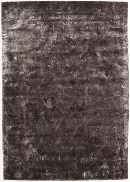 Crystal - Chocolate Teppich  140X200 Moderner Dunkelbraun/Braun ( Indien)