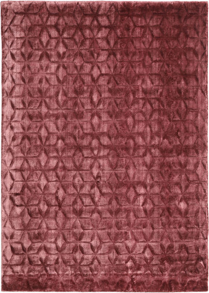 Diamond - Burgundy Teppich  140X200 Moderner Dunkelrot/Lila ( Indien)
