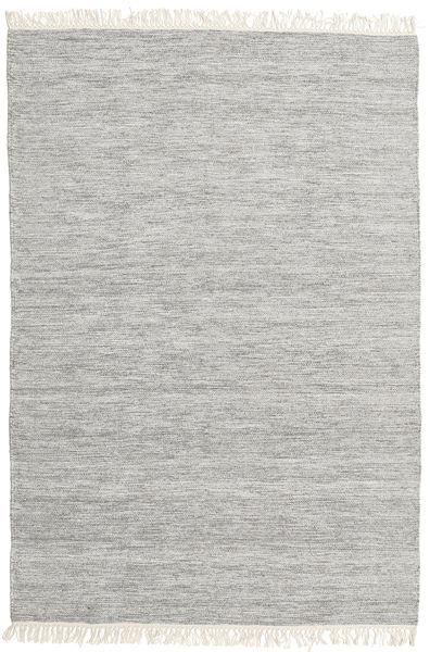 Melange - Grau Teppich  160X230 Echter Moderner Handgewebter Hellgrau (Wolle, Indien)