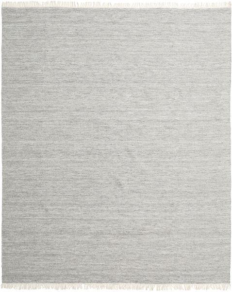 Melange - Grau Teppich  250X300 Echter Moderner Handgewebter Hellgrau Großer (Wolle, Indien)
