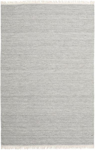 Melange - Grau Teppich  200X300 Echter Moderner Handgewebter Hellgrau (Wolle, Indien)