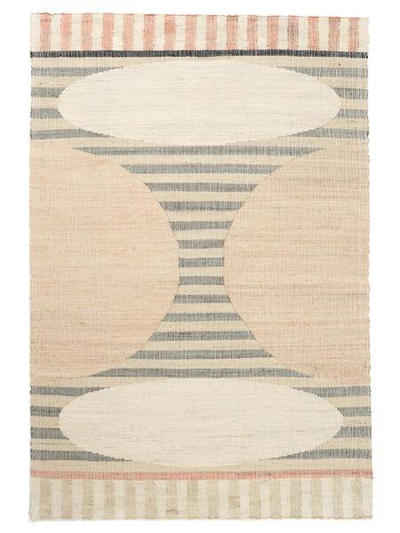 Outdoor-Teppich Time Jute Teppich  160X230 Echter Moderner Handgewebter Beige/Gelb (Jute-Teppich Indien)