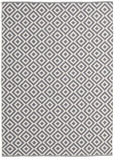 Torun - Grau/Neutral Teppich  170X240 Echter Moderner Handgewebter Helllila/Hellgrau (Baumwolle, Indien)