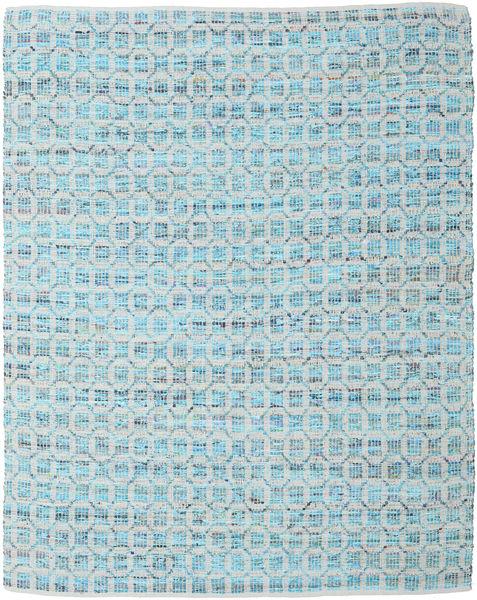 Elna - Bright_Blue Teppich  250X300 Echter Moderner Handgewebter Hellblau/Hellgrau Großer (Baumwolle, Indien)