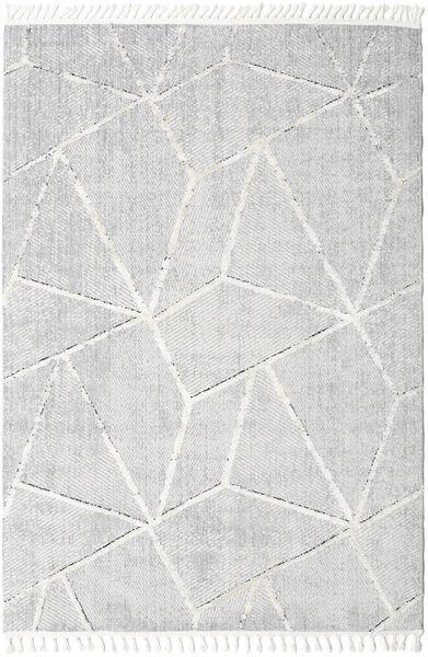 Scandic Teppich  200X290 Moderner Hellgrau/Weiß/Creme ( Türkei)