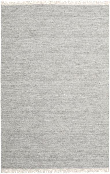 Melange - Grau Teppich  250X350 Echter Moderner Handgewebter Hellgrau Großer (Wolle, Indien)