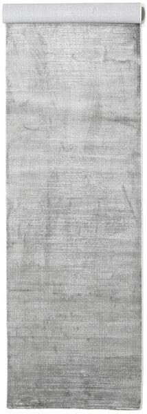 Illusion - Grau Teppich  100X400 Moderner Läufer Hellgrau/Weiß/Creme ( Türkei)