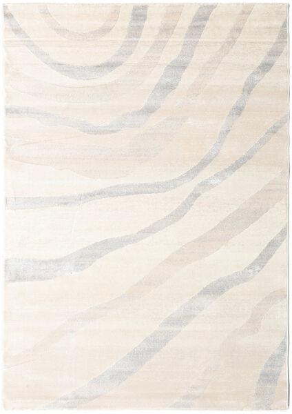 Wavy - Beige/Grau Teppich  160X230 Moderner Beige/Hellgrau ( Türkei)