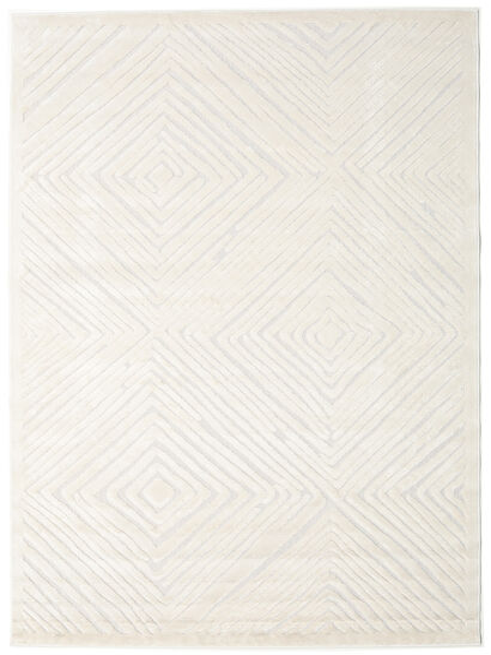 Tuscany - Cream Teppich  100X160 Moderner Beige/Hellgrau ( Türkei)