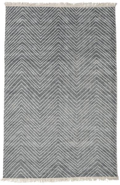 Vanice - Grau Teppich  200X300 Echter Moderner Handgeknüpfter Hellgrau/Blau ( Indien)