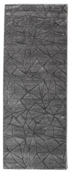 Patio - Grau Teppich  100X250 Moderner Läufer Hellgrau/Dunkelgrau ( Türkei)