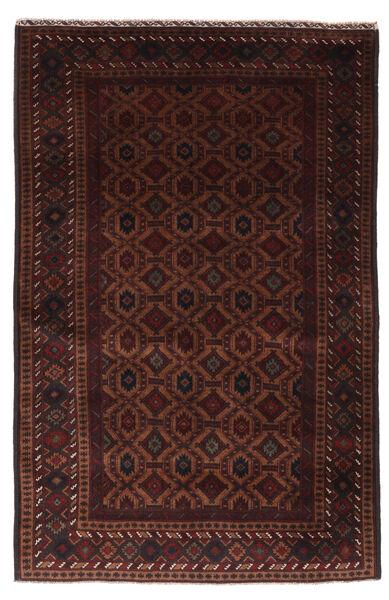 Belutsch Teppich  118X185 Echter Orientalischer Handgeknüpfter Dunkelbraun/Dunkelrot (Wolle, Afghanistan)