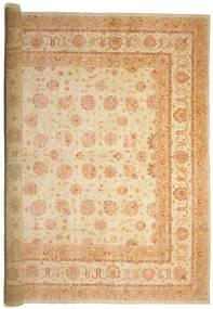 Ziegler Teppich 575X842 Echter Orientalischer Handgeknüpfter Beige/Dunkel Beige Großer (Wolle, Pakistan)