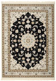 Nain Mahak Teppich 250X350 Orientalischer Hellbraun/Beige/Hellgrau Großer ( Türkei)