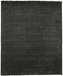 Handloom Fringes - Schwarz/Grau Teppich  250X300 Moderner Dunkelgrau Großer (Wolle, Indien)