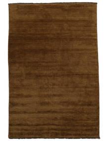Handloom Fringes - Braun Teppich  200X300 Moderner Braun (Wolle, Indien)