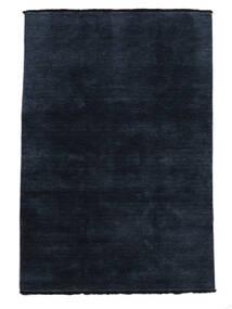 Handloom Fringes - Dunkelblau Teppich  160X230 Moderner Dunkelblau (Wolle, Indien)
