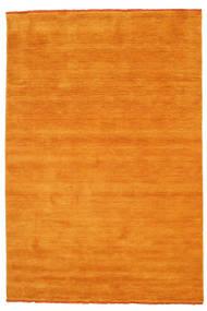 Handloom Fringes - Orange Teppich  160X230 Moderner Gelb/Hellbraun/Orange (Wolle, Indien)