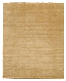 Handloom Fringes - Beige Teppich  200X250 Moderner Dunkel Beige/Beige (Wolle, Indien)