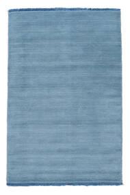 Handloom Fringes - Hellblau Teppich  80X120 Moderner Hellblau/Blau (Wolle, Indien)