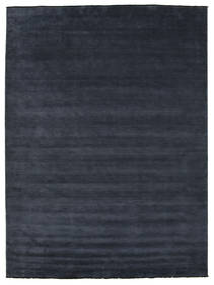 Handloom Fringes - Dunkelblau Teppich  300X400 Moderner Dunkelblau Großer (Wolle, Indien)