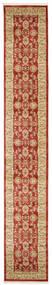 Ziegler Kaspin - Rot Teppich  80X500 Orientalischer Läufer Dunkelrot/Dunkel Beige ( Türkei)