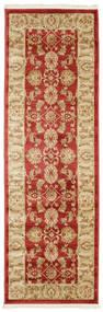 Ziegler Kaspin - Rot Teppich  80X250 Orientalischer Läufer Dunkel Beige/Rost/Rot ( Türkei)