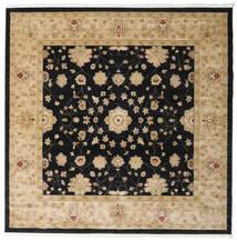 Farahan Ziegler - Beige Teppich  250X250 Orientalischer Quadratisch Schwartz/Hellbraun/Dunkel Beige Großer ( Türkei)