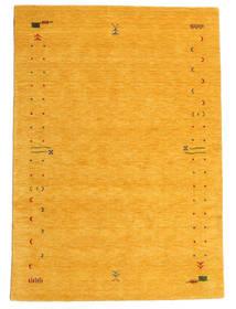 Gabbeh Loom Frame - Gelb Teppich  160X230 Moderner Gelb (Wolle, Indien)