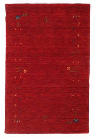 Gabbeh Loom Frame - Rot Teppich  100X160 Moderner Rot/Dunkelrot (Wolle, Indien)
