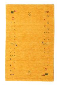 Gabbeh Loom Frame - Gelb Teppich  100X160 Moderner Gelb/Orange (Wolle, Indien)
