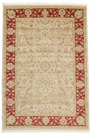 Farahan Ziegler - Beige/Rot Teppich  300X400 Orientalischer Beige/Rot Großer ( Türkei)