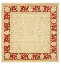 Farahan Ziegler - Beige/Rot Teppich  300X300 Orientalischer Quadratisch Beige/Dunkel Beige Großer ( Türkei)