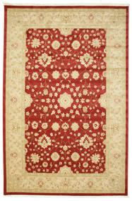 Farahan Ziegler - Rot Teppich  200X300 Orientalischer Beige/Rost/Rot ( Türkei)