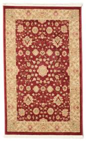 Farahan Ziegler - Rot Teppich  100X160 Orientalischer Dunkelrot/Gelb ( Türkei)