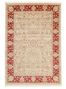 Farahan Ziegler - Beige/Rot Teppich  140X200 Orientalischer Beige/Gelb ( Türkei)