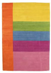 Colors By Meja Handtufted Teppich  160X230 Moderner Orange/Hellrosa (Wolle, Indien)