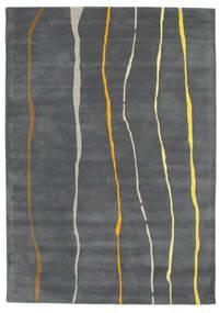 Flaws Handtufted - Grau Teppich  160X230 Moderner Dunkelgrau/Hellgrau (Wolle, Indien)
