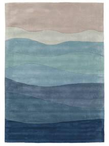 Feeling Handtufted - Blau Teppich  200X300 Moderner Hellblau/Hellgrau (Wolle, Indien)