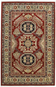 Kazak Mirvan Teppich  200X300 Orientalischer Dunkelrot/Hellbraun ( Türkei)